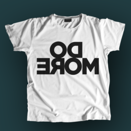 Do more t-shirt white